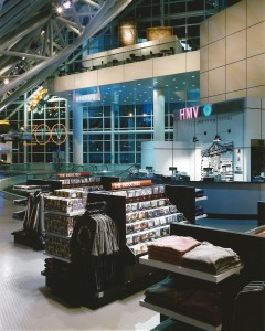 HMV in the Rock and Roll Hall of Fame in Cleveland, 1996