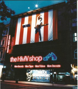 The original HMV Store in London opened in 1924.