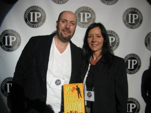 Mary and Me at the IPPY awards May 29, 2013. My Year as a Clown won the silver medal for popular fiction.